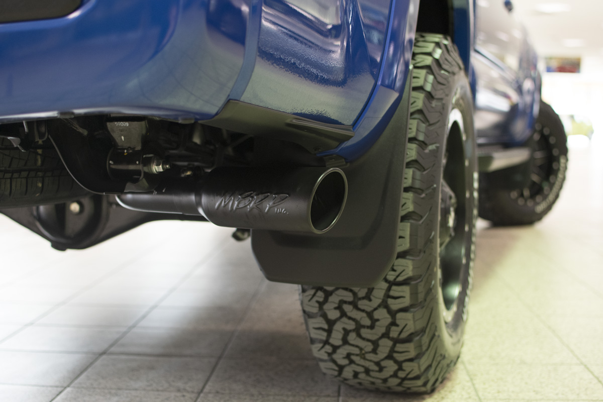 2016 Toyota Tacoma Custom MBRP Exhaust