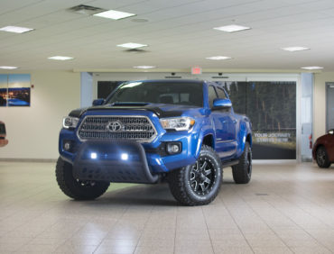 Custom 2016 Toyota Tacoma with Light Bar